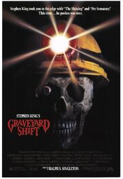 Graveyard Shift 1990 Poster