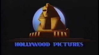 Hollywood Pictures (1993) Company Logo (VHS Capture)