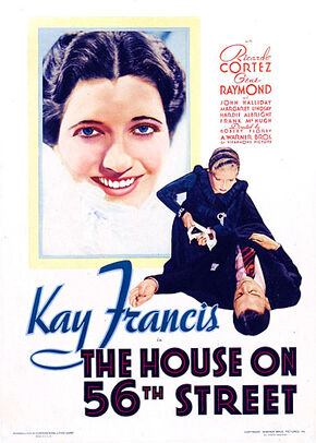1933 - The House on 56th Street Movie Poster