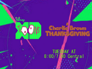 Disney XD Toons A Charlie Brown Thanksgiving Promo 2019