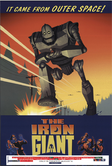 The Iron Giant (1999) Theatrical Poster