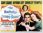 1947 - The Bachelor and the Bobby-Soxer Movie Poster