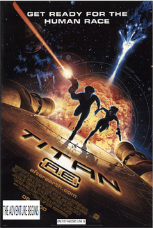 Titan Ae (2000) Theatrical Poster