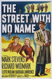 1948 - The Street with No Name Movie Poster -2