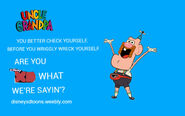 Disney XD Toons Uncle Grandpa Promo Poster 2014