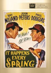1949 - It Happens Every Spring DVD Cover (2012 Fox Cinema Archives)
