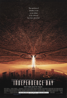 Indpendence Day (1996) Poster