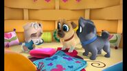 Keia crying puppy dog pals