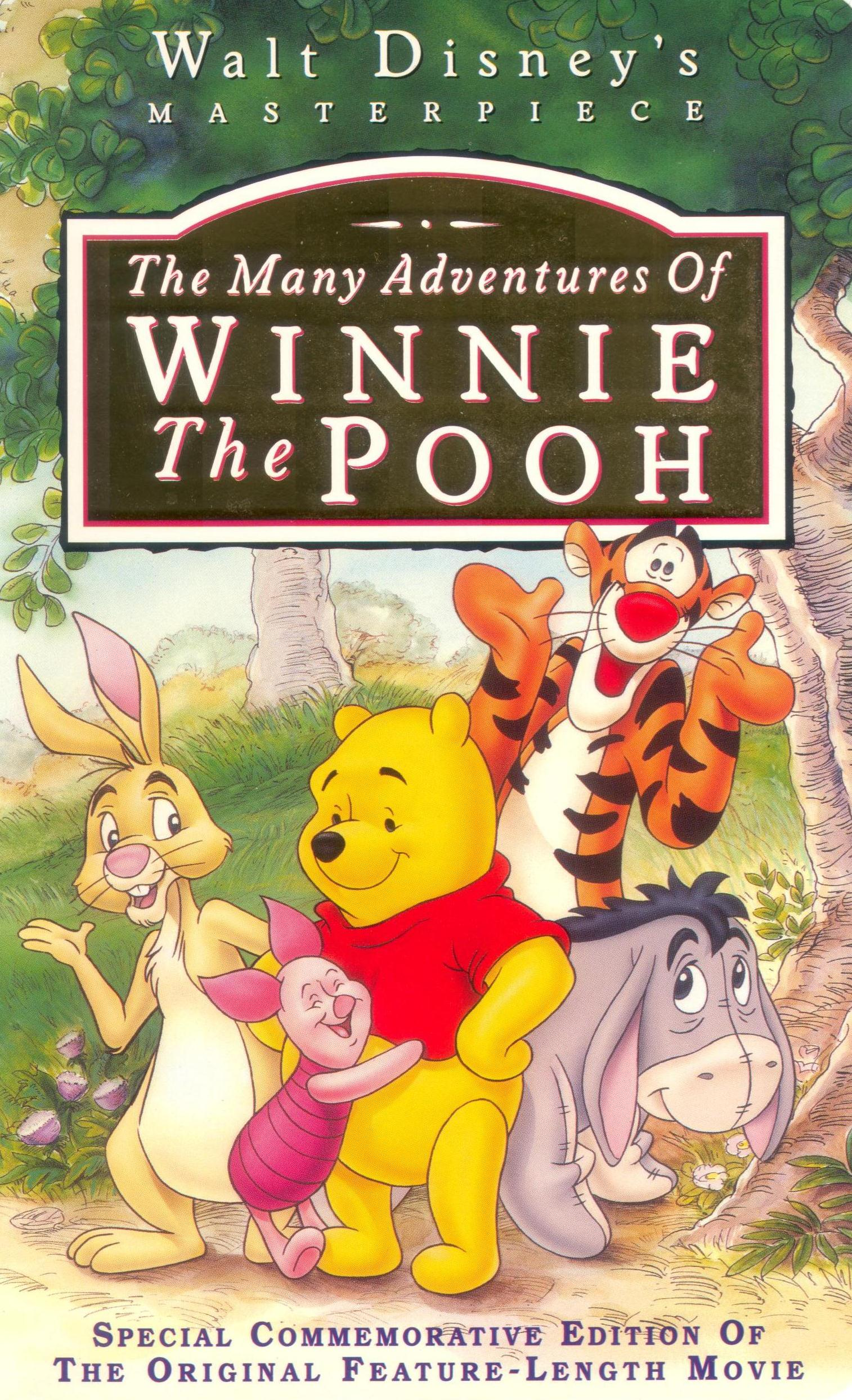 The Many Faces Of Sicily Dolce Gabbana Sicilian Folk: Opening To The Many Adventures Of Winnie The Pooh 1996 VHS