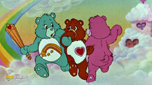 The Care Bears Dance In The Clouds At Theatrical Trailer Of The 1998 Re-Release Of The Care Bears Movie