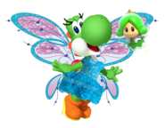 Yoshi and green sprixie