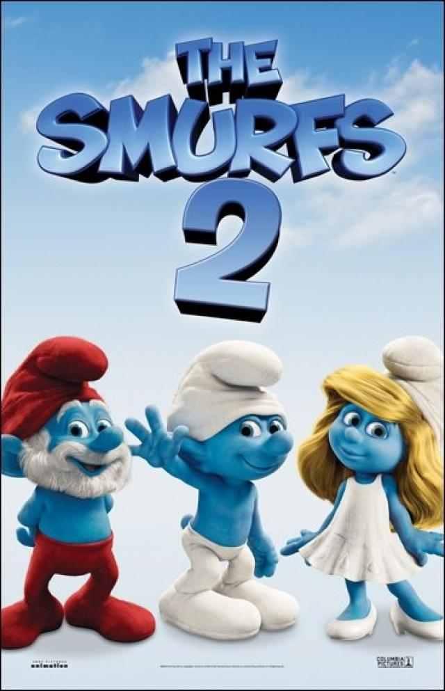The Smurfs 2 Movie Poster 9