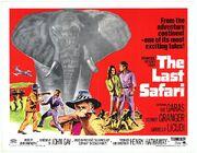 1967 - The Last Safari Movie Poster