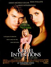 1999 - Cruel Intentions Movie Poster
