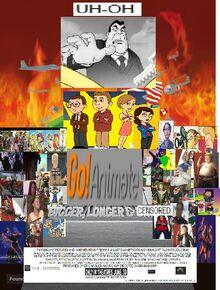 GoAnimate Bigger Longer And Censored (1999) Poster