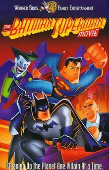 The Batman Superman Movie 1998 VHS