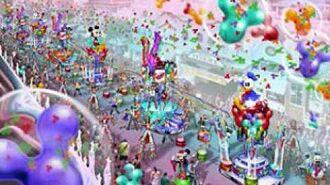 * Disneyland Celebrate! A Street Party soundtrack part 1