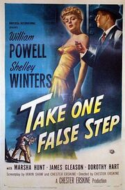 1949 - Take One False Step Movie Poster