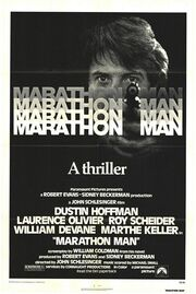 1976 - Marathon Man Movie Poster