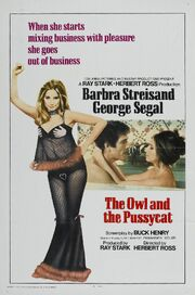 1970 - The Owl and the Pussycat Movie Poster -2