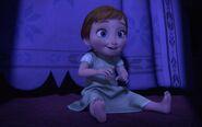 Anna as a Young Girl
