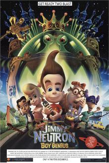 Jimmy Neutron Boy Genius (2001) Poster V2