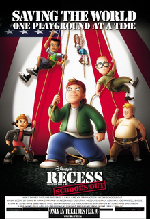 Recess School's Out (2001) Theatrical Poster