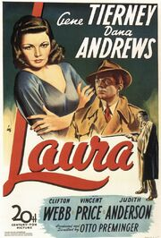 1944 - Laura Movie Poster -1
