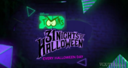 Disney XD Toons 31 Nights of Halloween Every Halloween Day Promo 2019