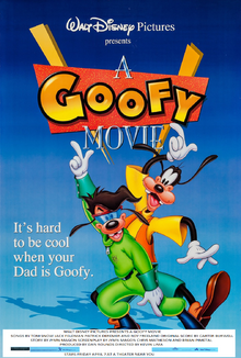 A Goofy Movie (1995) Theatrical Poster
