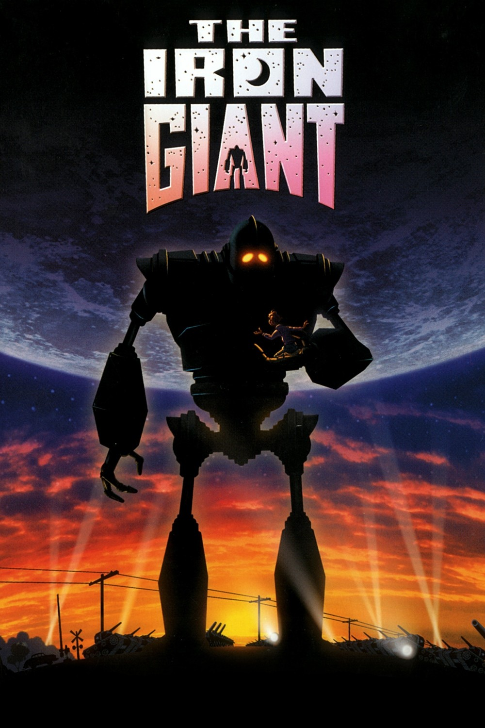 Image result for iron giant poster