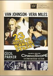 1956 - 23 Paces to Baker Street DVD Cover (2013 Fox Cinema Archives)