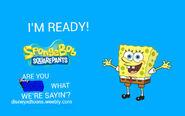 Disney XD Toons Spongebob Promo Poster 2014