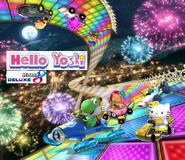 Hello yoshi kart 8 deluxe