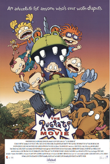 The Rugrats Movie (1998) Poster 2