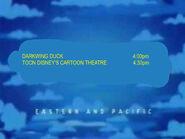 Toon Disney Darkwing Duck To Toon Disneys Cartoon Theatre