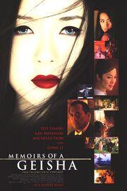2005 - Memoirs of a Geisha Movie Poster -2