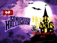 Disney XD Toons 31 Nights Of Halloween Hocus Pocus Promo 2018