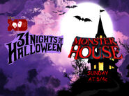 Disney XD Toons 31 Nights Of Halloween Monster House Promo 2018