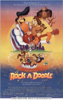 Rock A Doodle (1992) Poster