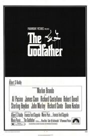 1972 - The Godfather Movie Poster