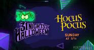 Disney XD Toons 31 Nights of Halloween Hocus Pocus Promo 2019