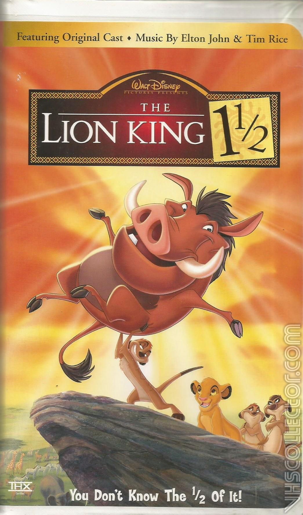 opening and closing to the lion king 1 1  2 2003 amc