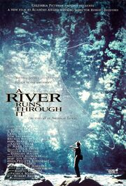 1992 - A River Runs Through It Movie Poster