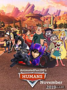 Humans (Cars) poster