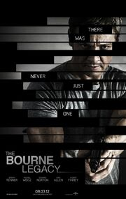 2012 - The Bourne Legacy Movie Poster -1