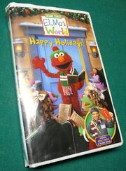 Elmos World Happy Holidays VHS
