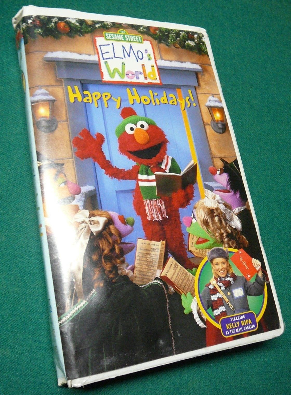 opening to elmo's world: happy holidays 2000 vhs (columbia tristar