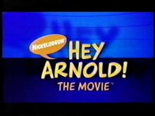 Hey Arnold The Movie Theatrical Teaser Trailer title logo