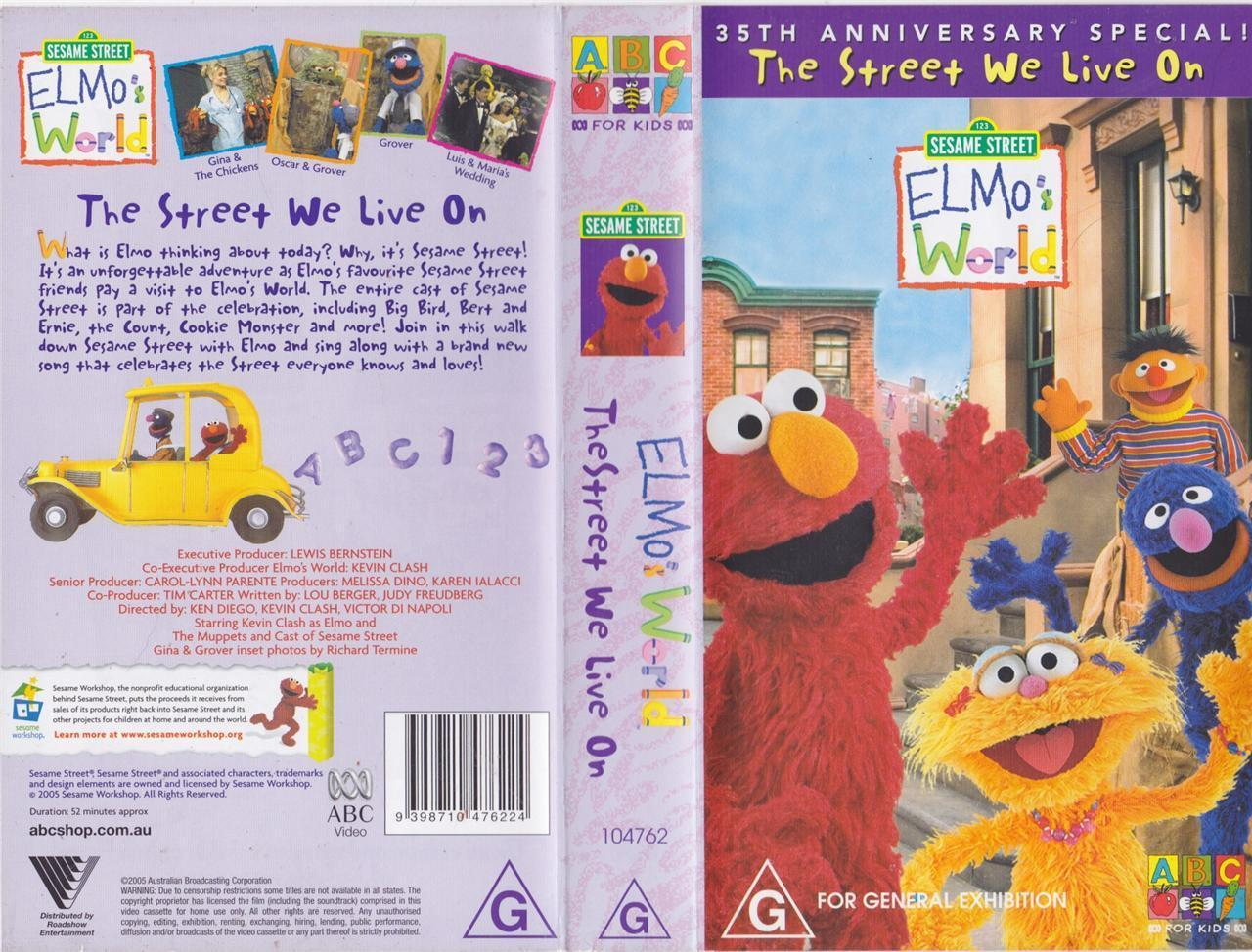 We Live In An Age Of Universal Investigation And Of: Opening To Elmo's World: The Street We Live On 2005